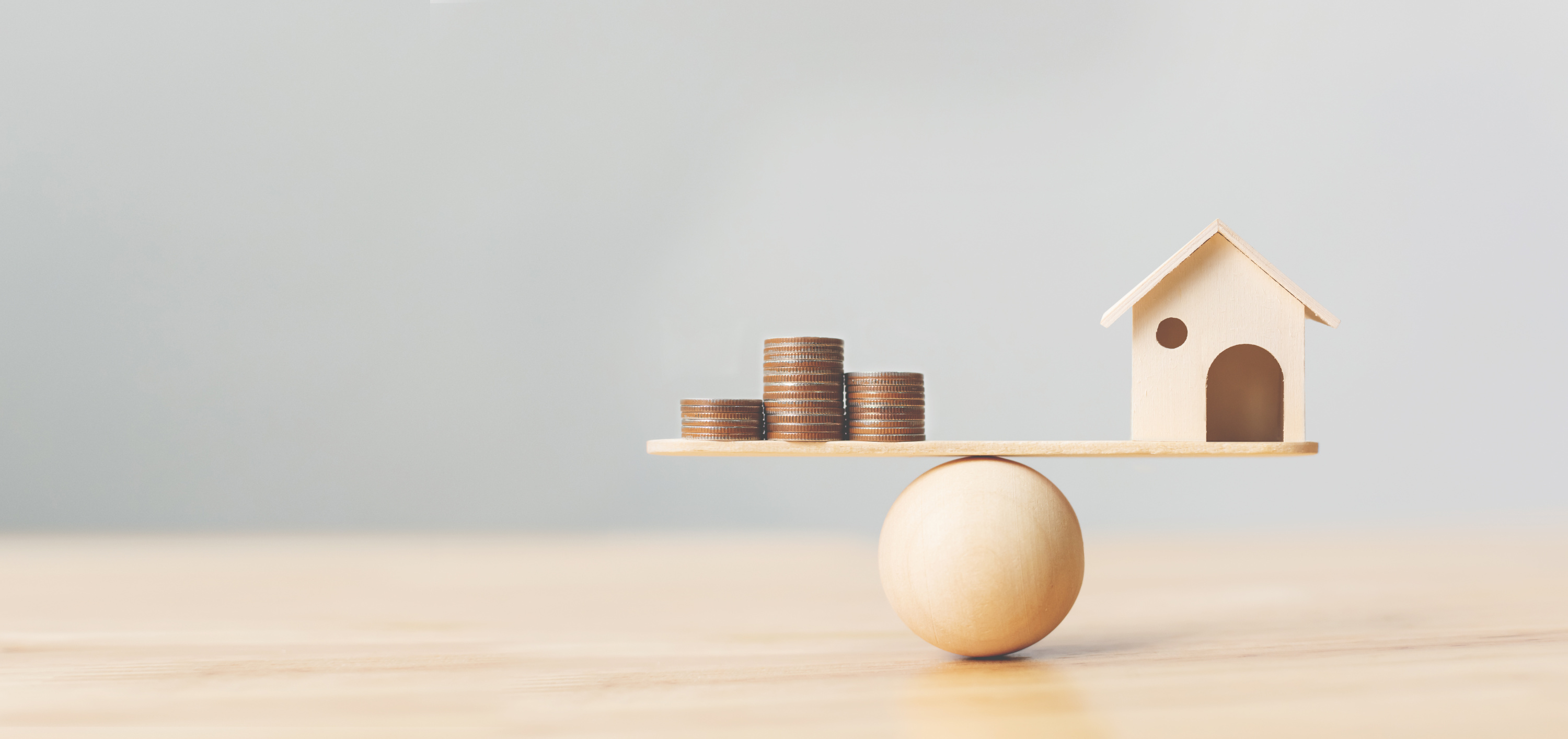 balancing a house and money - gearing